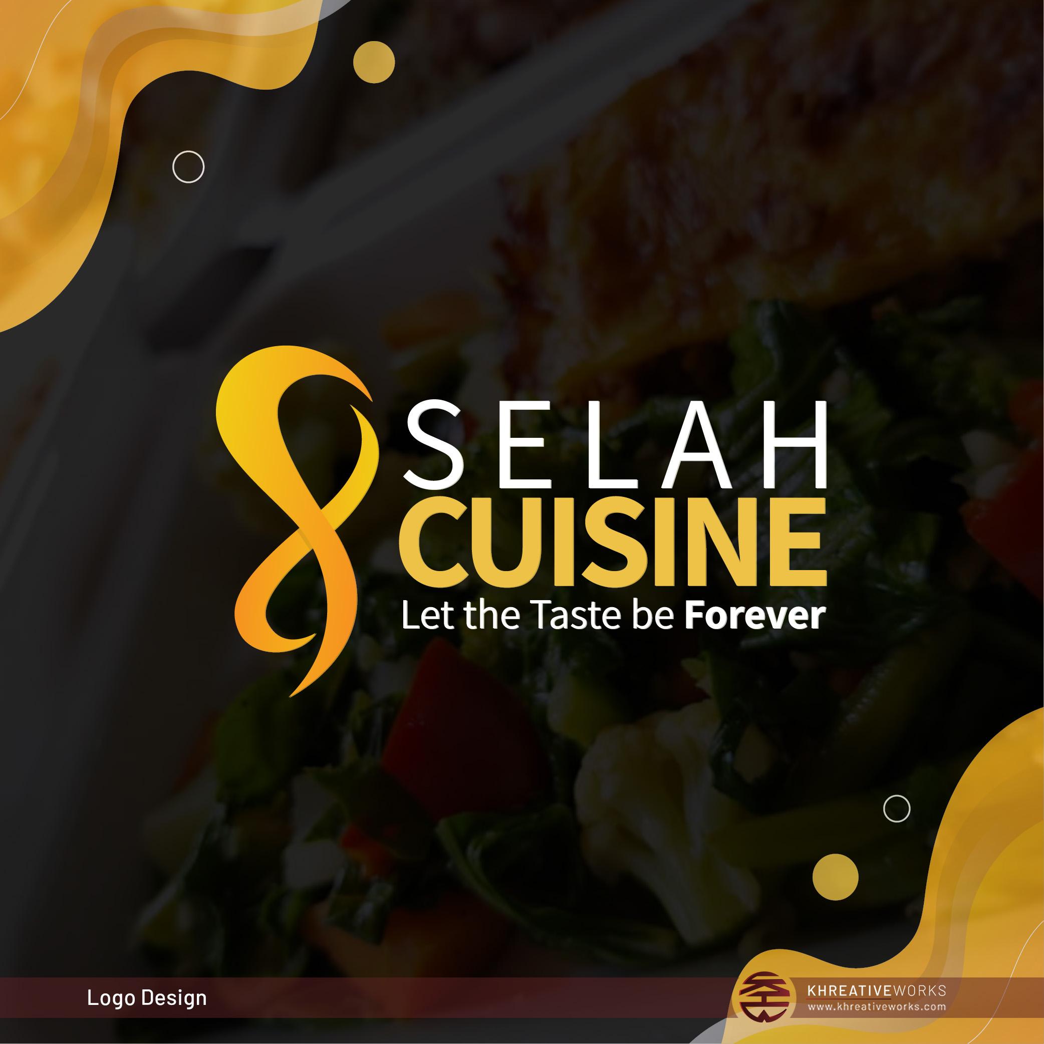 Logo Design for Selah Cuisine