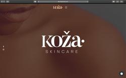 Website Design (Koza Skincare)