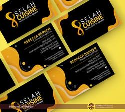 Business Cards for Selah Cuisine