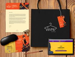 Vivre Style Ltd. Branding Package
