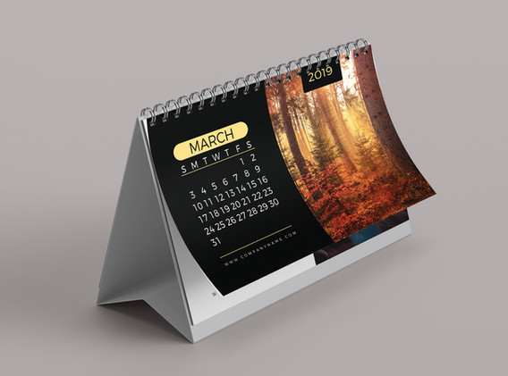 Tent Calendar (Nature)