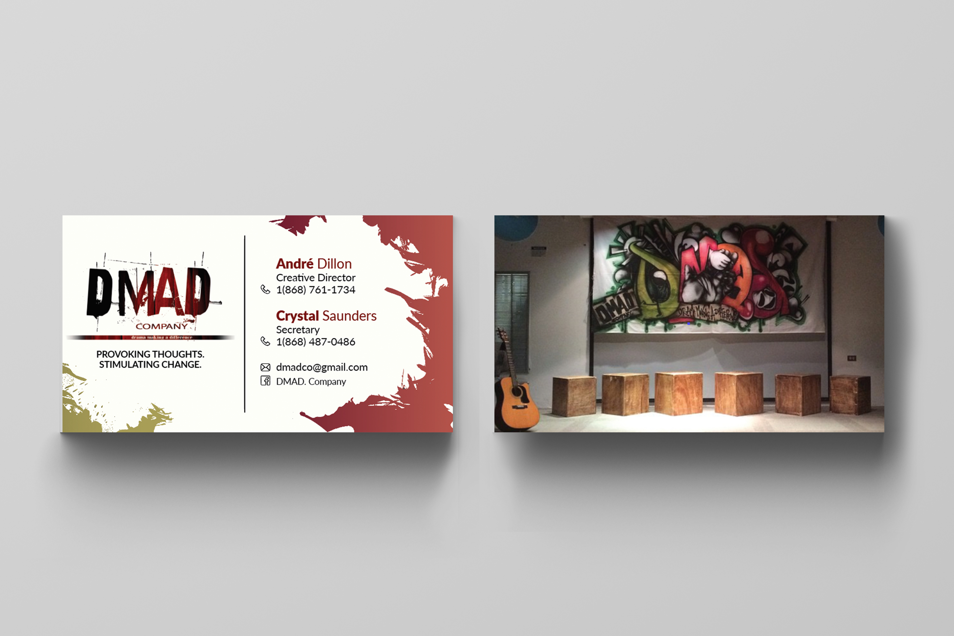 DMAD Company Business Cards