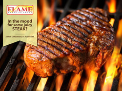 Ad Design - Flame Express Grill