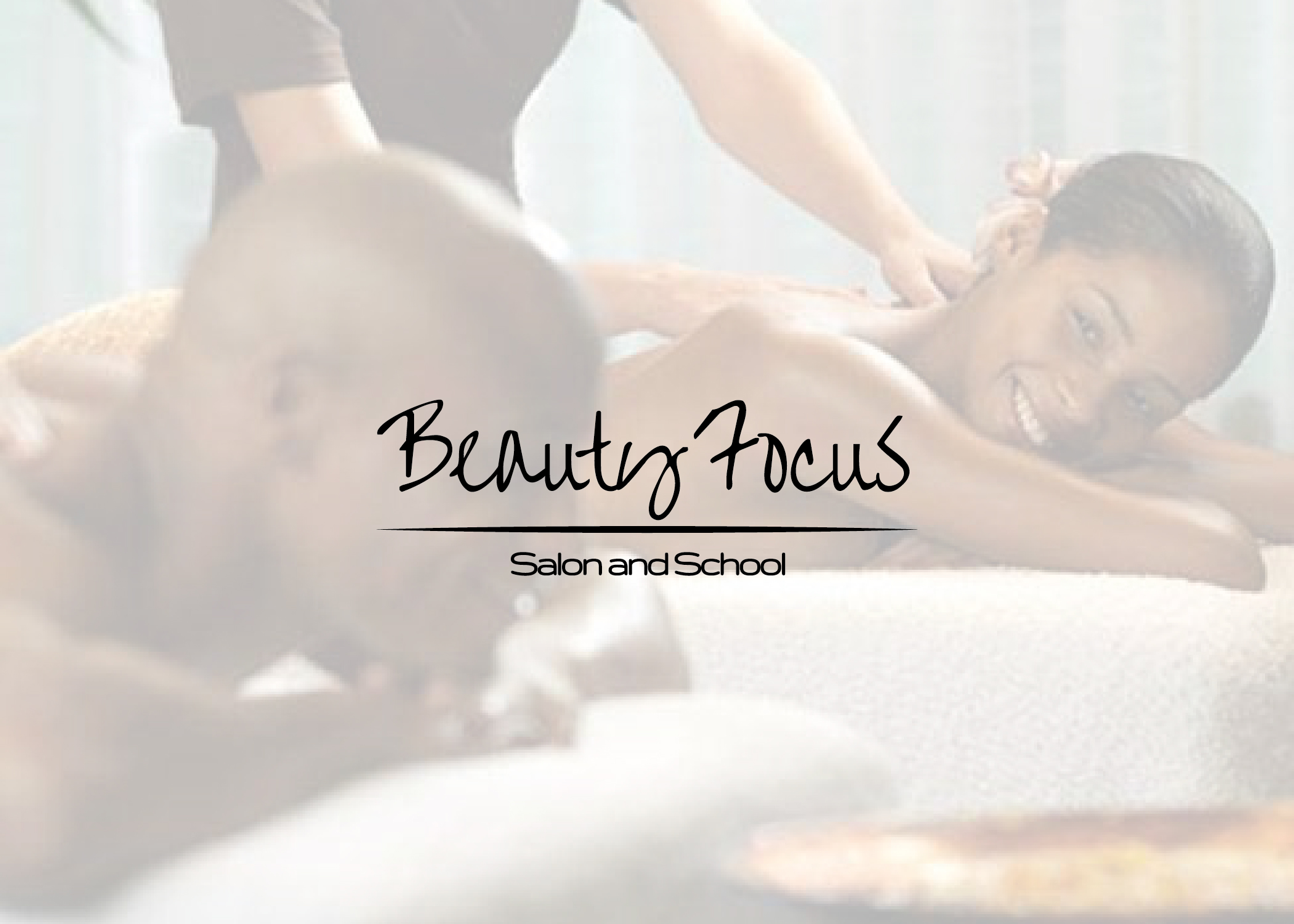 Beauty Focus Salon & School Booklet Cover Design
