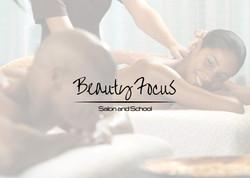 Beauty Focus Salon & School Booklet Cover Design