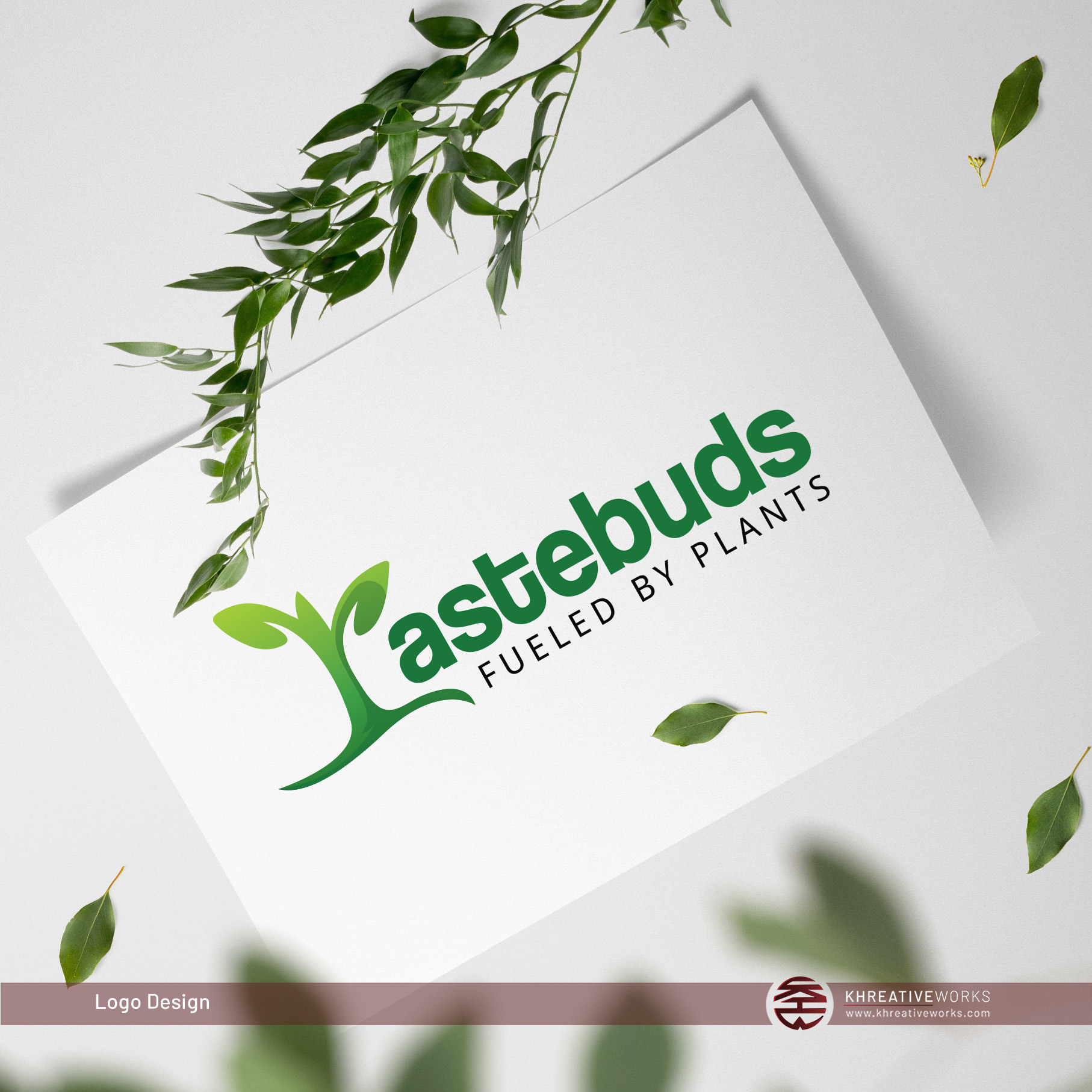 Logo Design for Tastebuds Fueled by Plan