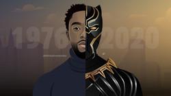 Digital Portrait - Chadwick Boseman