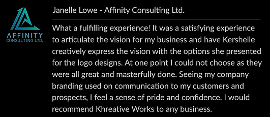 Review - Affinity Consulting Ltd.