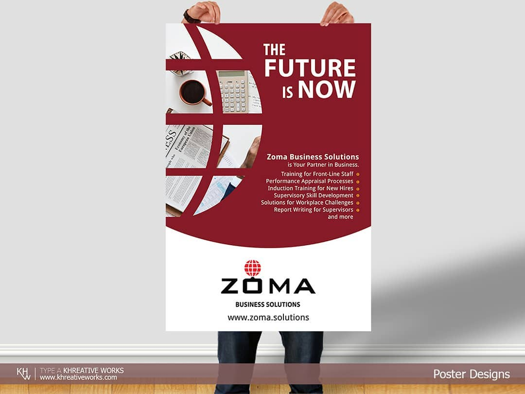 Poster Design - Zoma Business Solutions
