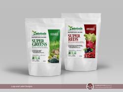 Label Designs - Superfoods by Tastebuds
