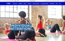 CORE Wellness TT Website Design