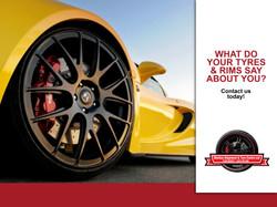 Ad Design - Sheldon's Alignment & Tyre Center