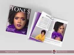 Brand Story Magazine Article Design