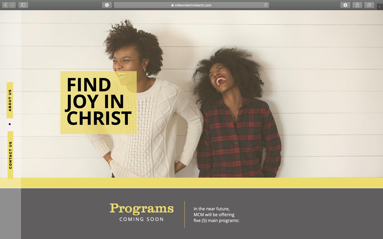 Website Design (Millennial Christian Min