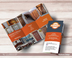 Brochure Design - The Sawmill Outlet