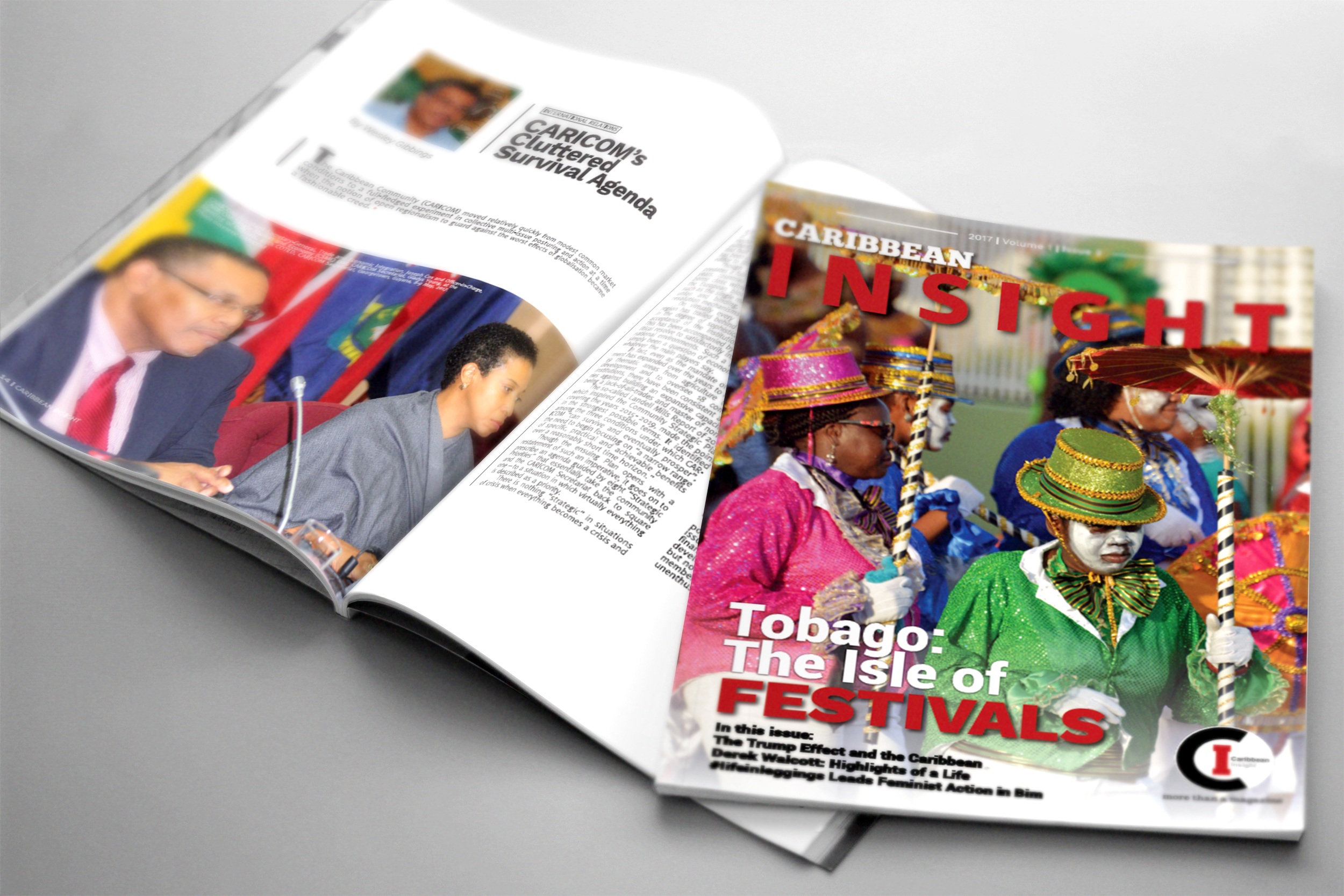 Caribbean Insight Magazine Design and Layout