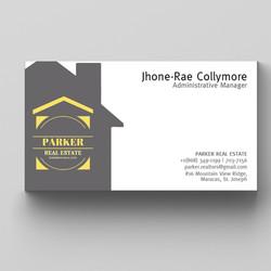 Business Card - Parker Real Estate