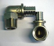 - Raccordi acciaio inox - Settore idraulico  Verbindungsstücke aus rostfreiem Stahl                                           Hydraulik  Stainless steel pipe fittings Hydraulic field