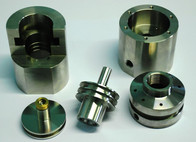 - Particolari acciao inox - Settore chimico/alimentare  Komponenten  aus rostfreiem Stahl Chemie/Essen  Stainless steel parts Chemical/food field