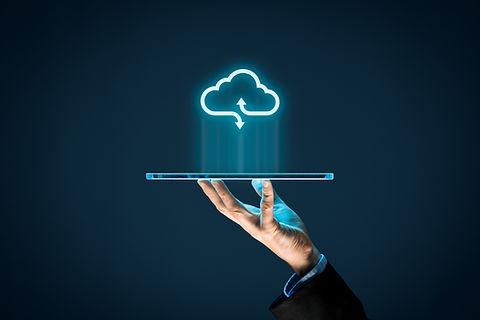 Cloud computing concept - connect device