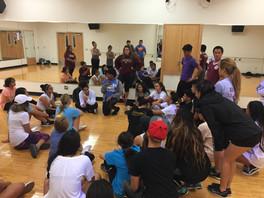 Modern Dance Rehearsal
