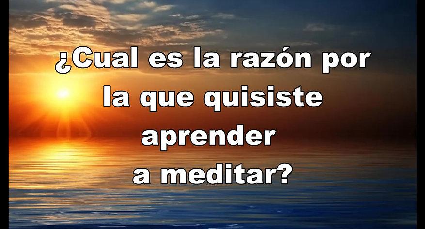 Spanish Meditation Video
