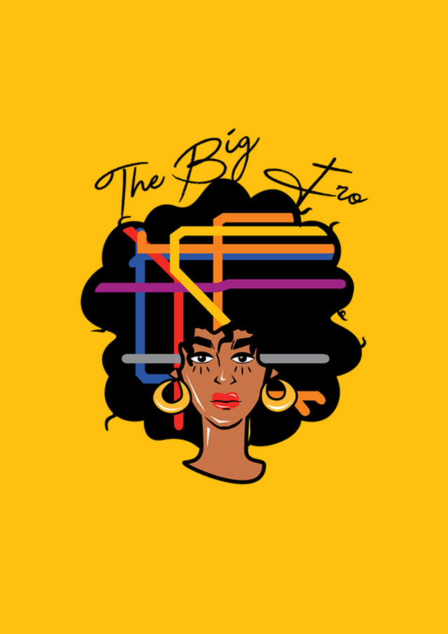 The Big Fro logo