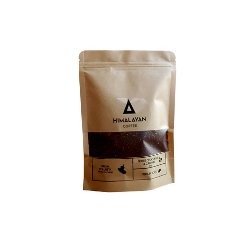Chocolate & Caramel Dark Roast Grounded