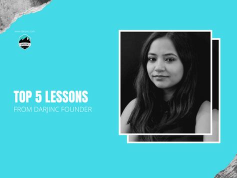 World Entrepreneurs' Day 2020: 5 lessons from Darjinc Founder's journey