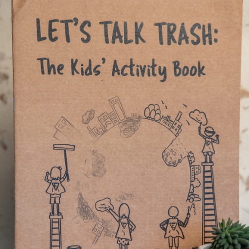 Lets Talk Trash - Kids Activity Book