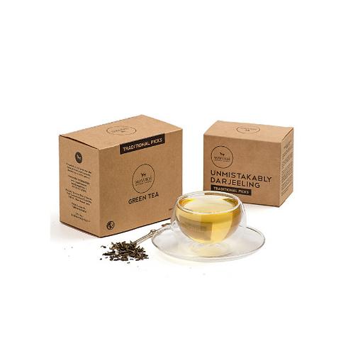 Queen's Collection - Broken Green tea