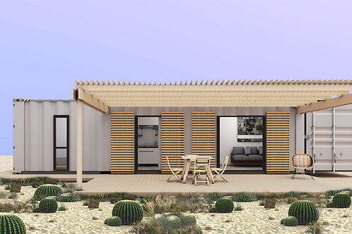 Container de 40 Ft, 2 bedrooms USD for