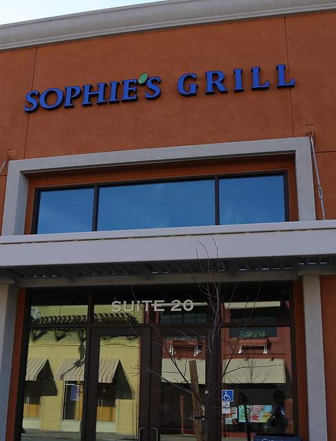 Store Front Sophie's Grill