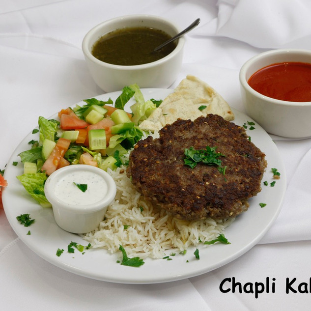Chapli Kabob