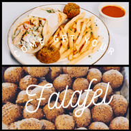 COME TRY OUR FALAFEL!