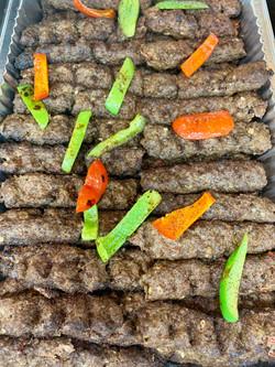 Beef Kofta Kabobs