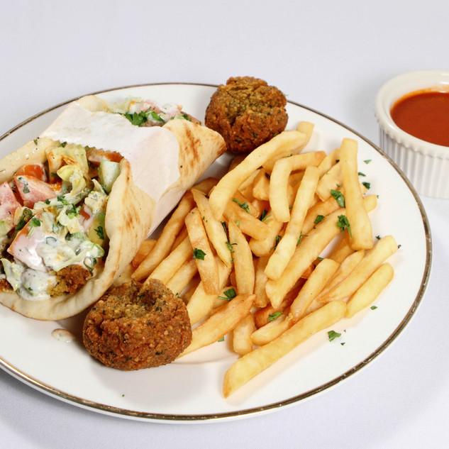 Falafel Pita Wrap