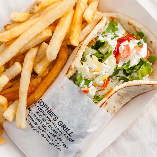 Gyro & Fries Combo