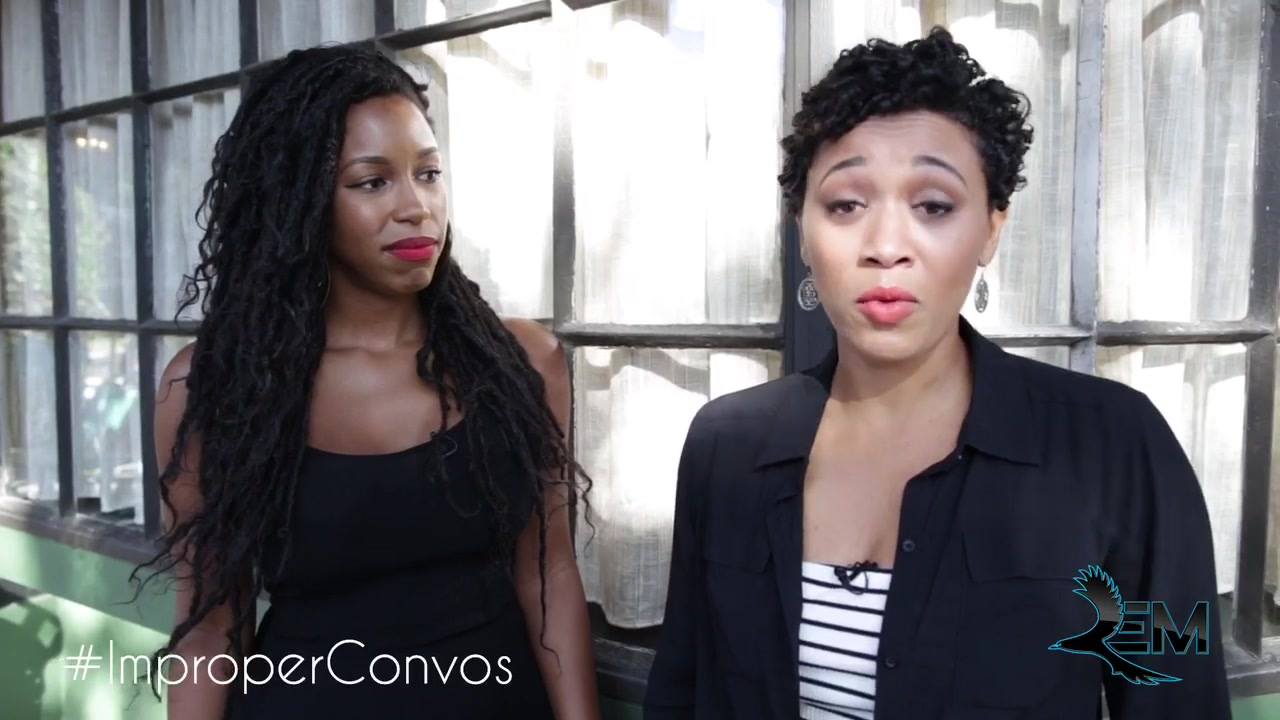 Get ready for the FIRST SEASON of IMproper Conversations with Casey & Miller - Premiering January 2018 on BAMM's Raven Empowered Media!   #ImproperConvos #REM #OCN