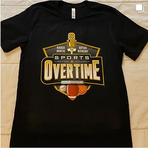 Sports Overtime T-Shirt - Black