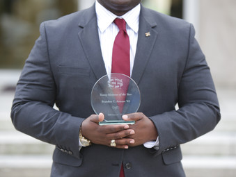 BAMM's CEO awarded by his Alma Mater for giving back and achieving success