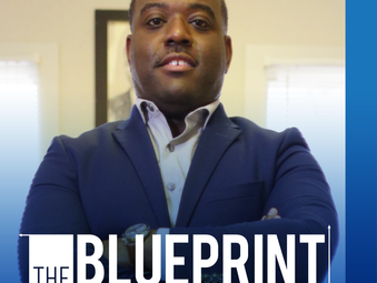 "Brandon hosts new radio show and podcast, ""The Blueprint,"" for success - premiering an int"