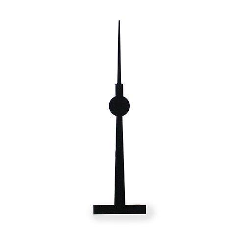 Silhouette für Bilderleiste Motiv Fernsehturm Berlin