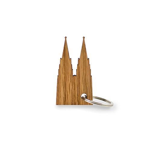 Schlüsselanhänger Eiche Kölner Dom