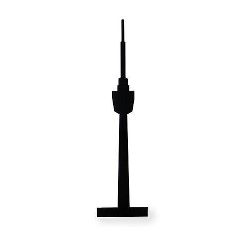 Silhouette für Bilderleiste Motiv Fernsehturm Stuttgart