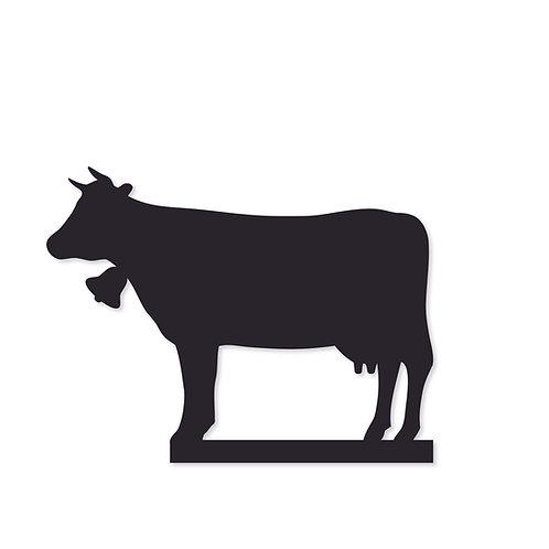 Silhouette für Bilderleiste Motiv Kuh