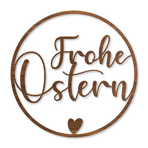 Wandkranz Türkranz - Frohe Ostern