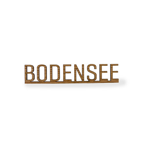 Schriftzug M - Bodensee