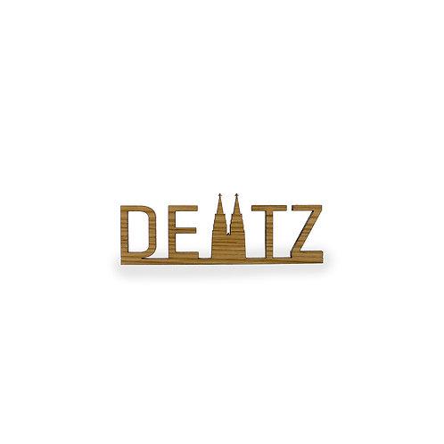 Schriftzug S - Köln Deutz Kölner Dom