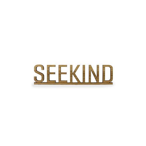 Schriftzug S - Seekind